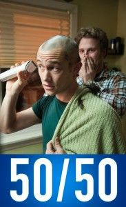 50/50 movie review #cancer #serious