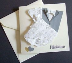 carte de félicitations mariage - carte postale et autre cartes - les couleurs du temps - Fait Maison
