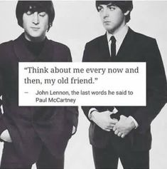 Beatles n' Such - •jUSt TO mAkE y'aLL cRY//2• - Wattpad