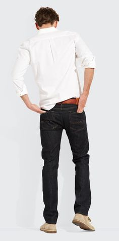 The Authentic Skinny from Lucky Brand: Slim and trim from waist to ankle, this is the tailored guy's go-to jean.
