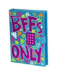 Bffs Only Pushcode Journal   Girls Journals Writing Beauty, Room Toys   Shop Justice