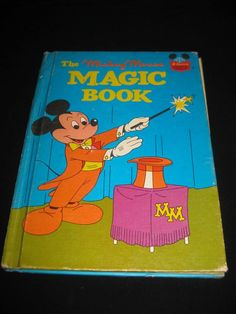 DISNEY'S WONDERFUL WORLD OF READING THE MICKEY MOUSE MAGIC BOOK (1974)