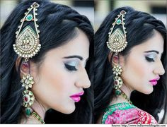 Kundan Matha Pattiis the perfect hair accessory