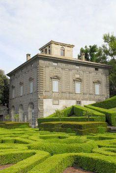 Italian Villas: Villa Lante, Bagnaia, Viterbo, Lazio, Italy