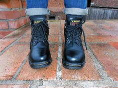 Dr Martens DRAX STEEL T Steel Toe, Dr. Martens, Combat Boots, Shoes, Fashion, Moda, Zapatos, Shoes Outlet, Fashion Styles