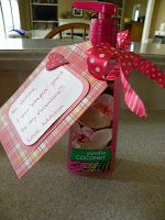 I was SOAPIN' you'd be my valentine..Valentine's teacher gift