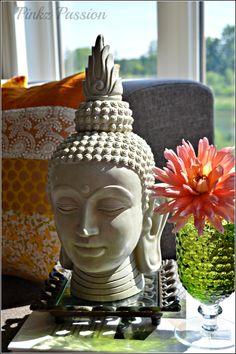 Buddha Décor, Flowers décor, Indian décor, global decor