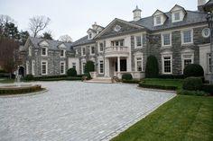 Estates at Alpine, Stone Mega Mansion, Alpine Stone Home, NJ Stone Mansions - Legacy Stoneworks Portfolio