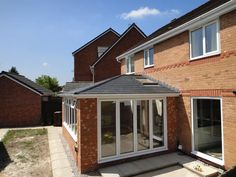 Garden Room extension by T Conservatories. Bungalow Extensions, Garden Room Extensions, House Extensions, House Extension Design, Roof Extension, House Design, Extension Ideas, Orangerie Extension, Conservatory Extension