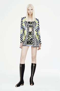 Versace Resort 2015. See all the best looks here.