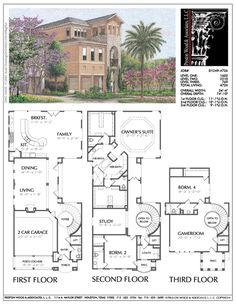 Creative Floor Plans, New Residential House Plan, Single Family Homes, – Preston Wood & Associates Duplex House Plans, Dream House Plans, House Floor Plans, The Plan, How To Plan, Home Design Floor Plans, Plan Design, Best Home Plans, Family House Plans