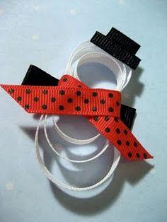 The Gift Closet: Win It Wednesday Hair Ribbons, Diy Hair Bows, Diy Bow, Ribbon Bows, Kids Hair Clips, Ribbon Sculpture, Diy Hair Accessories, Ribbon Crafts, Baby Bows