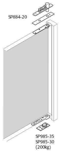 Get more details about Pivot Hinge - Heavy Duty visit our site or call The Lock and Handle on 9489 Hidden Door Bookcase, Hidden Hinges, Window Hinges, Door Hinges, Door Design Interior, Main Door Design, Pivot Doors, Sliding Doors, Safe Storage