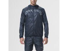 Gyakusou Embossed Woven Men's Running Jacket