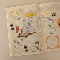 @JooniesStarChild Bullet Journal Aesthetic, Bullet Journal Ideas Pages, Bullet Journal Layout, Bullet Journal Inspiration, Art Journal Pages, Journaling, Bullet Journal Minimalist, Bujo, Cute Journals