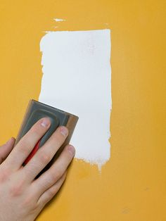 Get Ready To Paint. Fill Nail HolesPreparing Walls ...