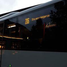 Avslutter kvelden med en rundtur i #brunlanes #tidebuss #vkt #mercedesbenzbus