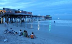 Cocoa Beach - a favorite hangout when not working for TMI'ers when I was there.  I still love to go visit here and do every chance I can.
