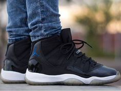 Air Jordan 11 Space Jam - @little_laces