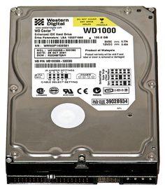 File:Hard disk Western Digital WD1000 2 (dark1).jpg
