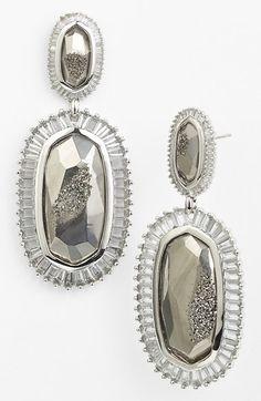 Kendra Scott 'Kaki' Drop Earrings available at #Nordstrom