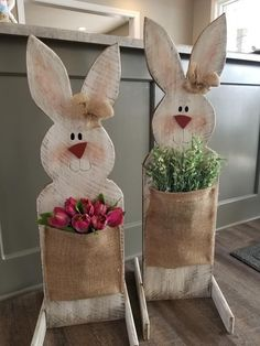 Easter wood work art work wood working crafts - wood working crafts that sell - wood working Spring Projects, Easter Projects, Spring Crafts, Holiday Crafts, Easter Art, Hoppy Easter, Bunny Crafts, Easter Crafts, Diy Easter Decorations