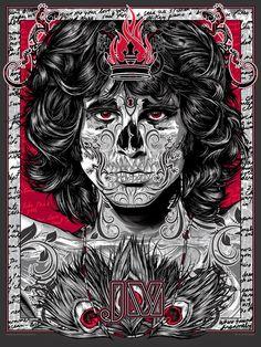 Jim Morrison - Rhys Cooper - ''Bad 2the Bonez Series - Lizard King'' ----