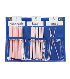 Busy Kids Learning Pacon County Caddy Pocket Chart