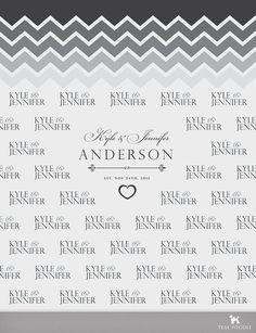Chevron Red Carpet  Step And Repeat Wedding Backdrop by TealPoodle, $119.00