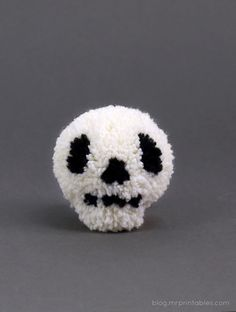 How-To: Halloween Pom Poms