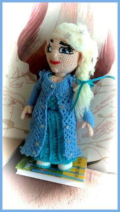 Princezna Elza z ledového království.