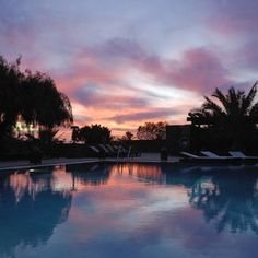 Canary Islands, Lanzarote: beautiful sunset at Hotel Villa VIK Boutique Hotel   Adults Only - Arrecife, Spain