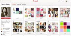 10 Most-Followed Users on Pinterest via mashable.com on 2/19/12
