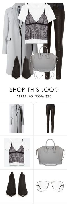 """""""Untitled #2911"""" by elenaday on Polyvore featuring rag & bone, Givenchy, Acne Studios and Ray-Ban"""