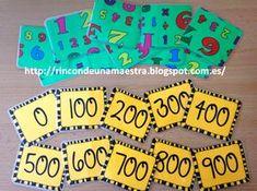 """Un nuevo taller que he incluido en los """"Talleres de matemáticas divertidas de 2º"""" es: ¡El cinquillo de las centenas! Y es que no nos ..."""