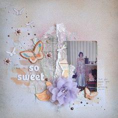 Pastel, Wire & Sweet... November 123 Challenge by Leonie Waldron