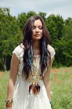 Awesome Hairstyles with Feather Extensions!