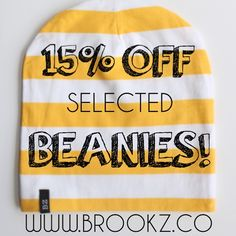 ✨FLASH SALE✨ There's only a few beanies left!⏰ go to ✖️www.brookz.co✖️to get yours before they're all gone! Thanks to everyone who ordered yesterday will be shipping them all today!☺️ #brookz#sale#flashsale#beanie