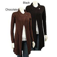 Maxi Length Sweaters | Oak Maxi Sweater Vest in Black - Lyst ...