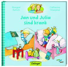 """Die Bilderbuch-Serie """"Jan und Julia"""" hatte für mich 1987 schon einen altmodischen Charme. Nun wurde sie neu illustriert."""
