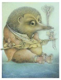 Wayne Anderson, Balancing Hedgehog, 2004 by Gatochy, via Flickr