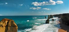 Geological Photography - Twelve Apostles | Abduzeedo | Graphic Design Inspiration and Photoshop Tutorials