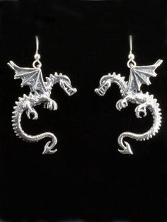 Dragon Earrings Game of Thrones Inspired Jewelry by martymagic