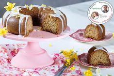 ΚΕΪΚ ΛΕΜΟΝΙ ΜΕ ΚΙΝΟΑ – Ντίνα Νικολάου Cupcake Cakes, Cupcakes, Caramel Apples, Doughnut, Muffins, Breakfast, Desserts, Food, Morning Coffee