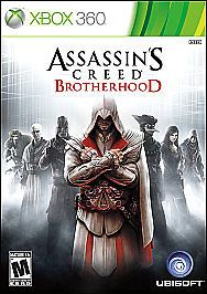 Assassins Creed Brotherhood (Microsoft Xbox 360, 2013)