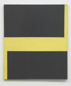 Blinky Palermo, Untitled, 1964. Oil paint on canvas.