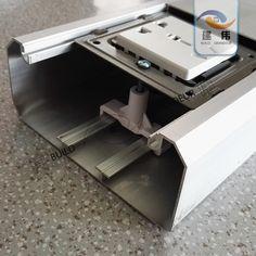 厂家直销特厚型120*50铝合金插座多功能86面板开关明装方型线槽-淘宝网