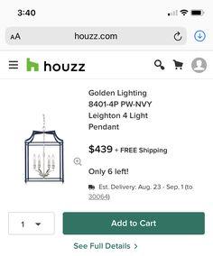 Barbie Box, Houzz, Pendant Lighting, Ads, Free Shipping, Pendant Lights