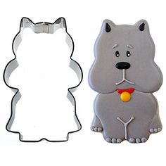 Sweet Elite Tools Sitting Scottie Dog Stainless Steel Cookie Cutter By Sweet Sugarbelle >>> Click on the image for additional details.(This is an Amazon affiliate link and I receive a commission for the sales)