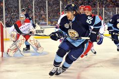 Kris Letang at the 2011 Winter Classic game against the Washington Capitals..... I can't wait for Kris to return!!